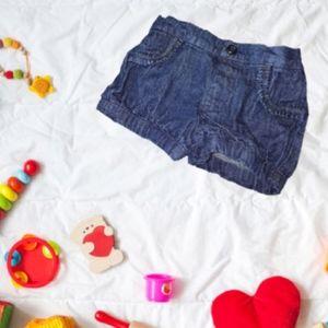 12M Bloomer Jean Shorts